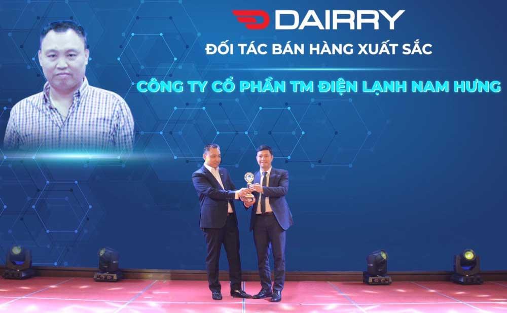 Dien lanh Nam Hung doi tac duy nhat dieu hoa Dairry tai Hai Phong