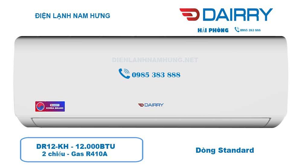 Dieu hoa Dairry 1 chieu DR12-KH tai Hai Phong