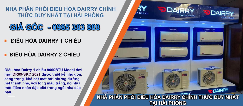 Dieu hoa Dairry DR09-SKC-9000BTU tai Hai Phong