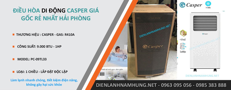 Dieu hoa Casper-PC-09TL33 tai Hai Phong